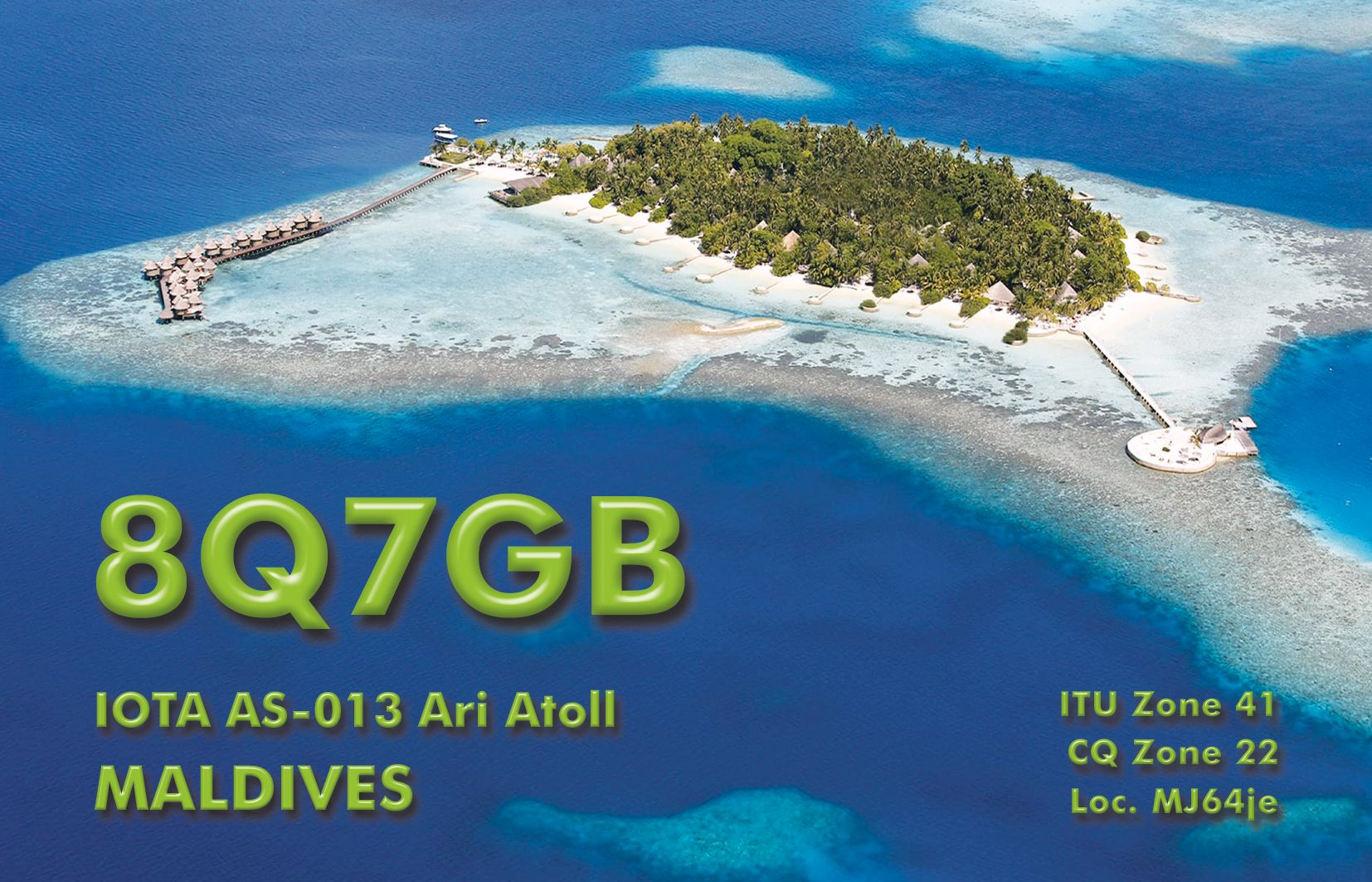 QSL preview – 8Q7GB | DX-World